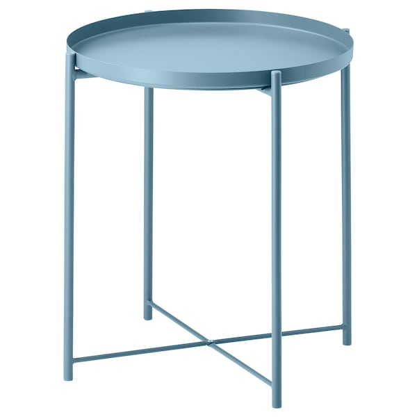 GLADOM Tray table, blue, 17 1/2x20 5/8 ""
