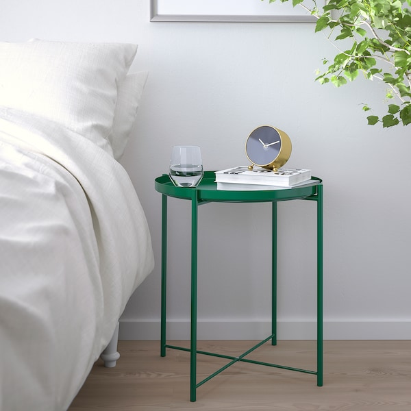 """GLADOM Tray table, green, 17 1/2x20 5/8 """""""
