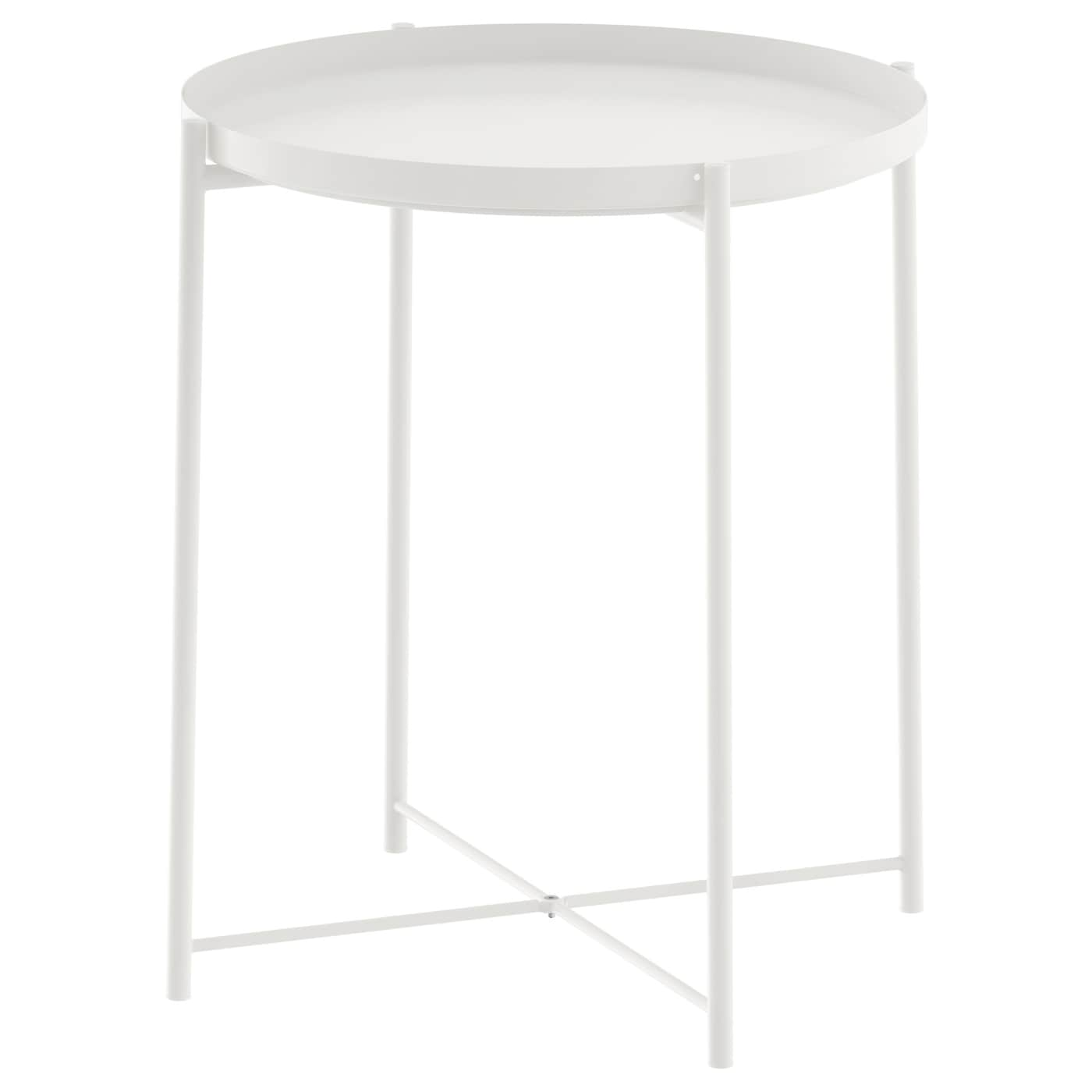 Gladom Tray table, White