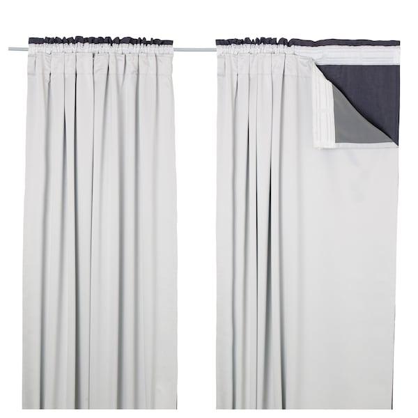 IKEA GLANSNÄVA Curtain liners, 1 pair