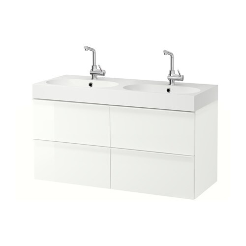 GODMORGON / BRÅVIKEN Sink cabinet with 4 drawers   10-year Limited Warranty.   Read about the terms in the Limited Warranty brochure.