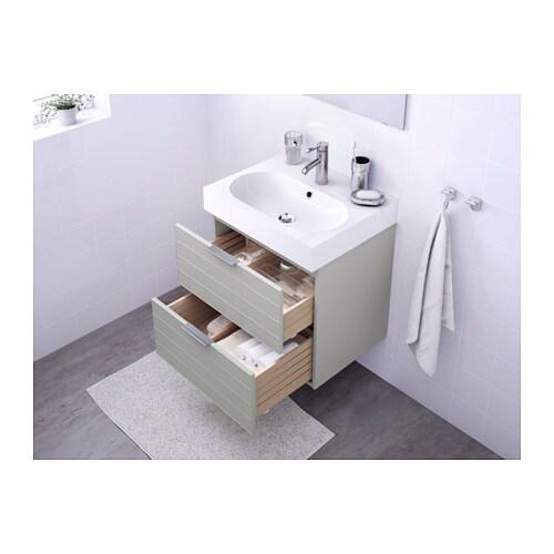 GODMORGON / BRÅVIKEN Sink Cabinet With 2 Drawers   White   IKEA