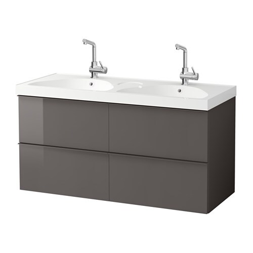 GODMORGON / EDEBOVIKEN Sink cabinet with 4 drawers   10-year Limited Warranty.   Read about the terms in the Limited Warranty brochure.