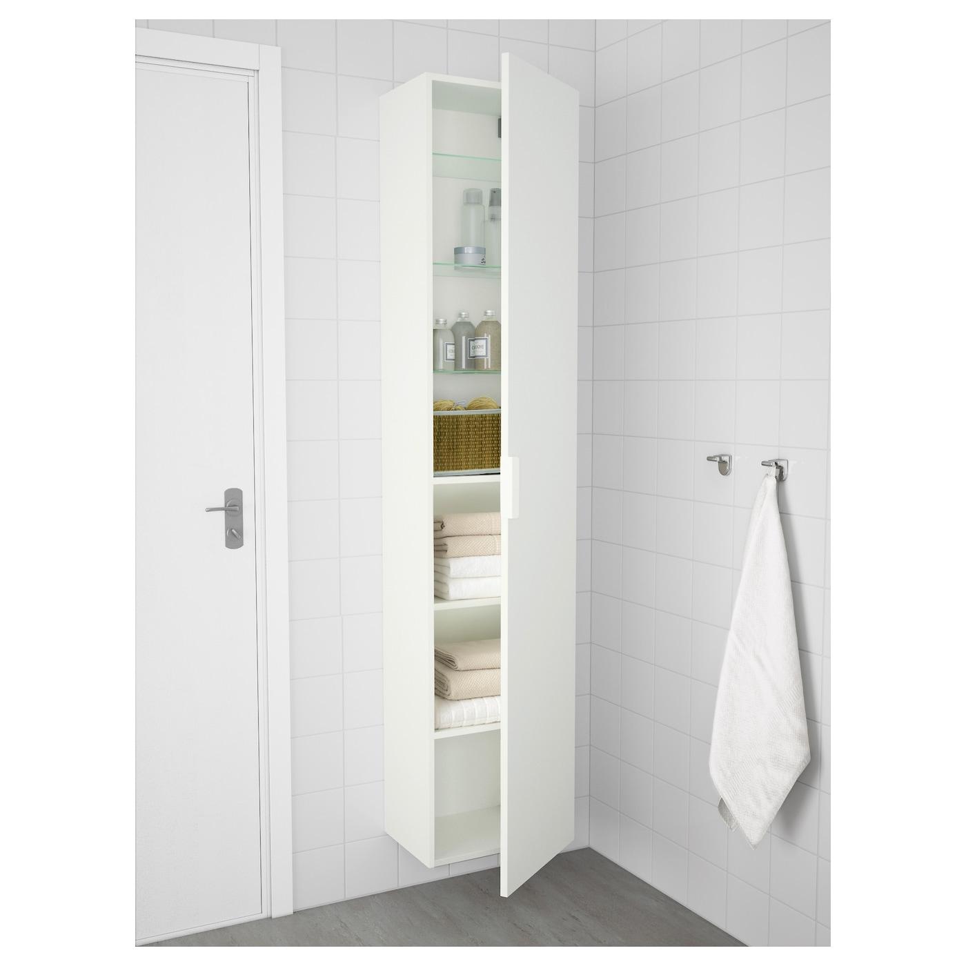 Morgon High Cabinet White Ikea
