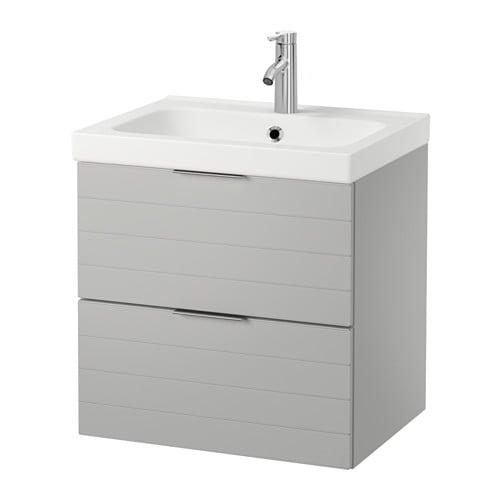 godmorgon odensvik sink cabinet with 2 drawers light. Black Bedroom Furniture Sets. Home Design Ideas