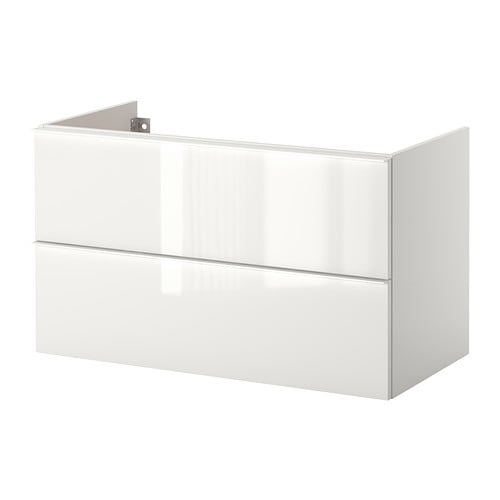 GODMORGON Sink cabinet with 2 drawers   10-year Limited Warranty.   Read about the terms in the Limited Warranty brochure.