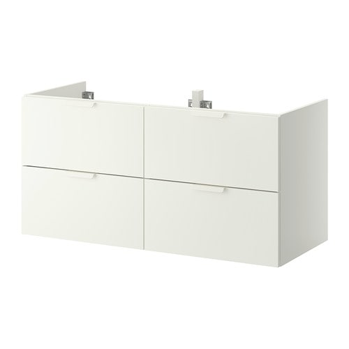 GODMORGON Sink cabinet with 4 drawers   10-year Limited Warranty.   Read about the terms in the Limited Warranty brochure.