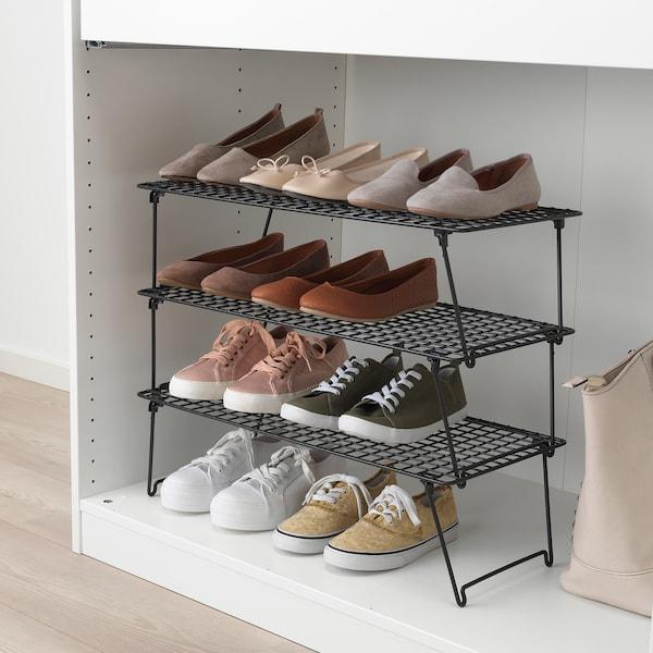 """GREJIG Shoe rack, 22 7/8x10 5/8x6 3/4 """""""
