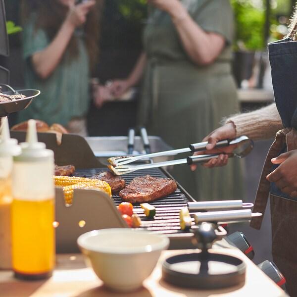 GRILLTIDER 3-piece barbecue tools set
