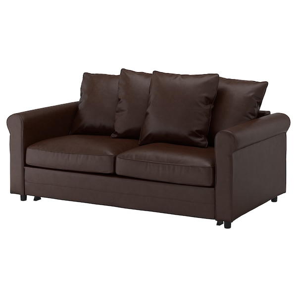 Enjoyable Sofabed Gronlid Kimstad Dark Brown Caraccident5 Cool Chair Designs And Ideas Caraccident5Info