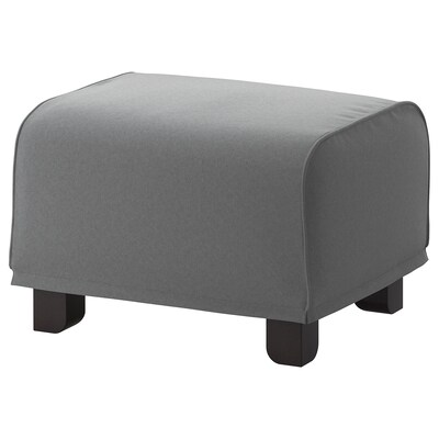 GRÖNLID Footstool, Ljungen medium gray