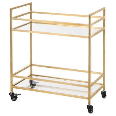 "GROERYD Utility cart, bronze color, 28 3/8x14 5/8x31 1/2 """
