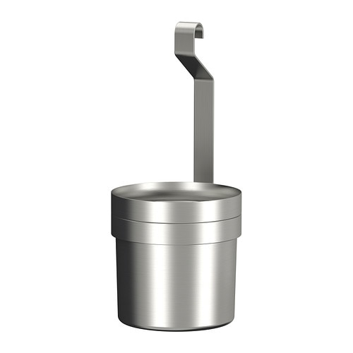GRUNDTAL Utensil holder   Helps free up space on your countertop while keeping cooking utensils close at hand.
