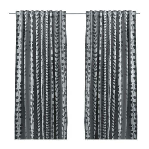 GUNNI Block-out Curtains, 1 Pair