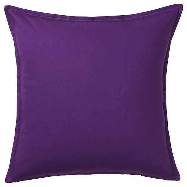 "GURLI Cushion cover, dark lilac, 20x20 """