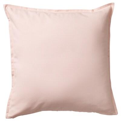 "GURLI Cushion cover, light pink, 20x20 """