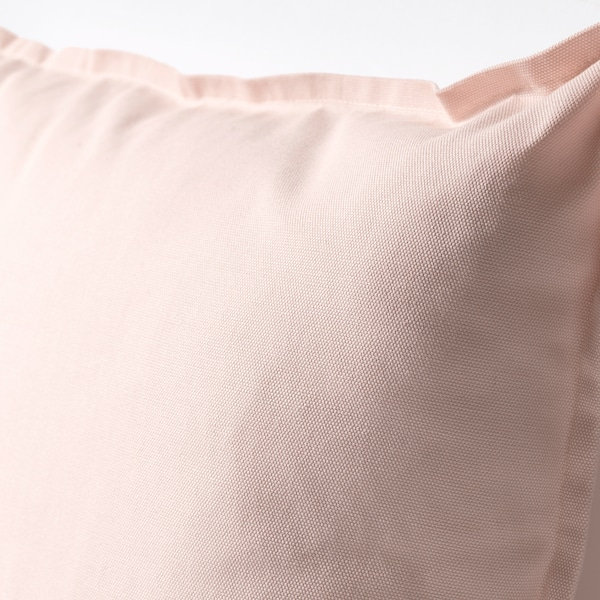 "GURLI cushion cover light pink 20 "" 20 """