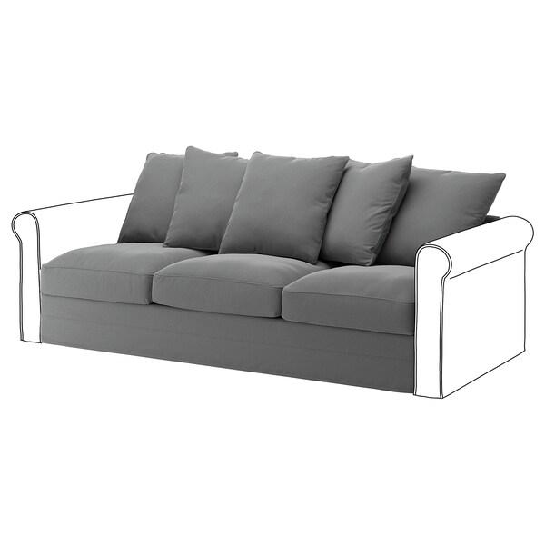 HÄRLANDA Cover for sofa section, Ljungen medium gray
