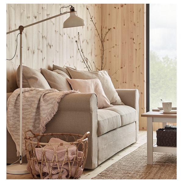 HÄRLANDA Loveseat, Sporda natural