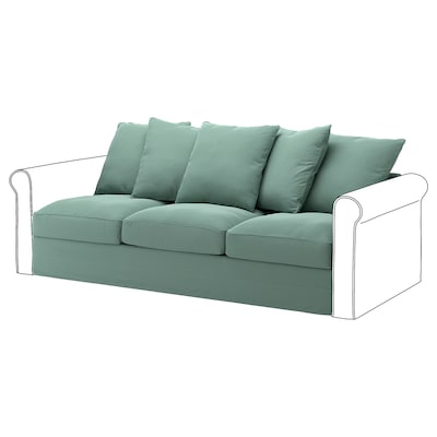 HÄRLANDA Sofa section, Ljungen light green