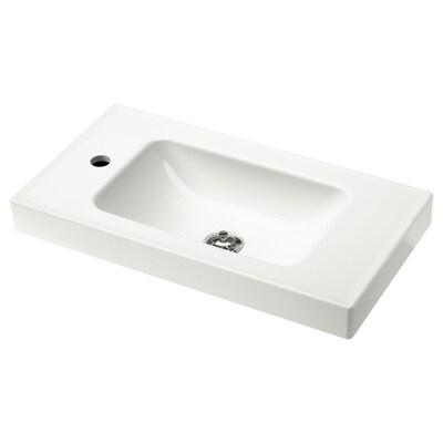 """HAGAVIKEN sink white 24 3/4 """" 23 5/8 """" 13 3/8 """" 2 3/4 """""""