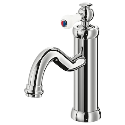 HAMNSKÄR Bathroom faucet, chrome plated