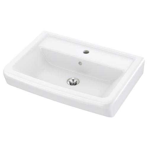 "HAMNVIKEN sink 24 3/4 "" 23 5/8 "" 17 3/4 "" 4 3/8 "" 4 3/8 """
