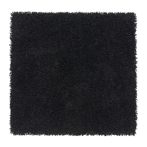 HAMPEN Rug, high pile   Durable, stain resistant and easy to care for since the rug is made of synthetic fibers.