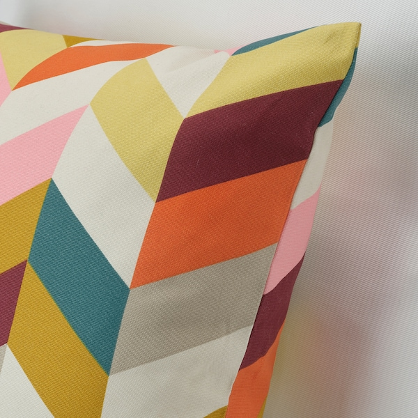 "HANNELISE Cushion, multicolor, 20x20 """