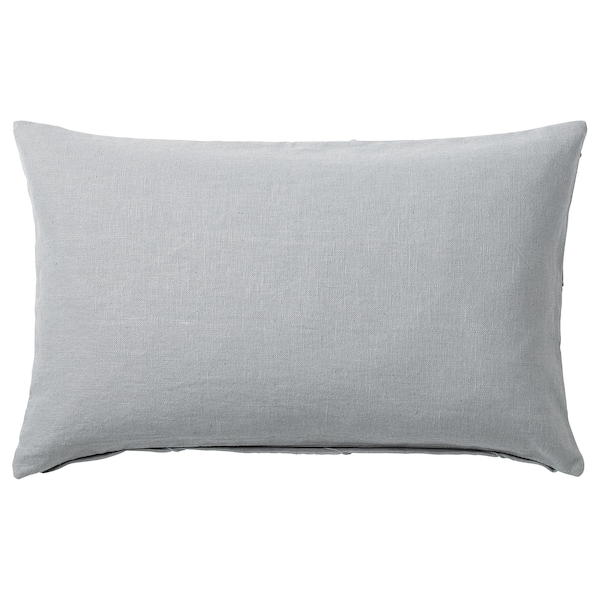 HARÖRT Cushion, gray, 16x26 ""