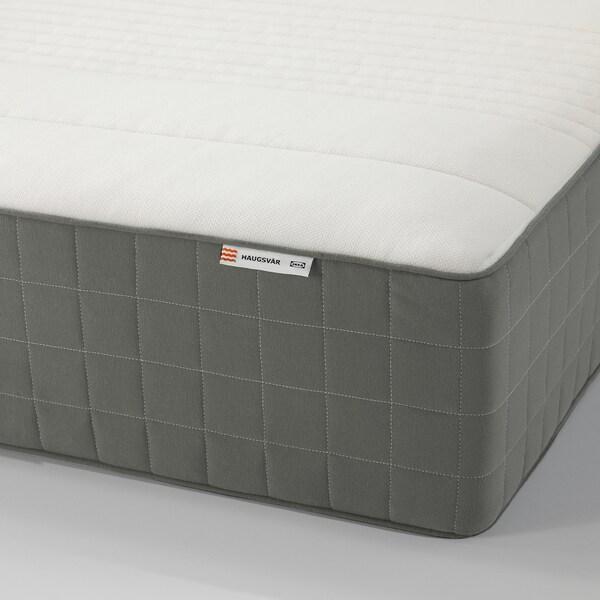 Haugsvar Hybrid Mattress Firm Dark Gray Ca Ikea
