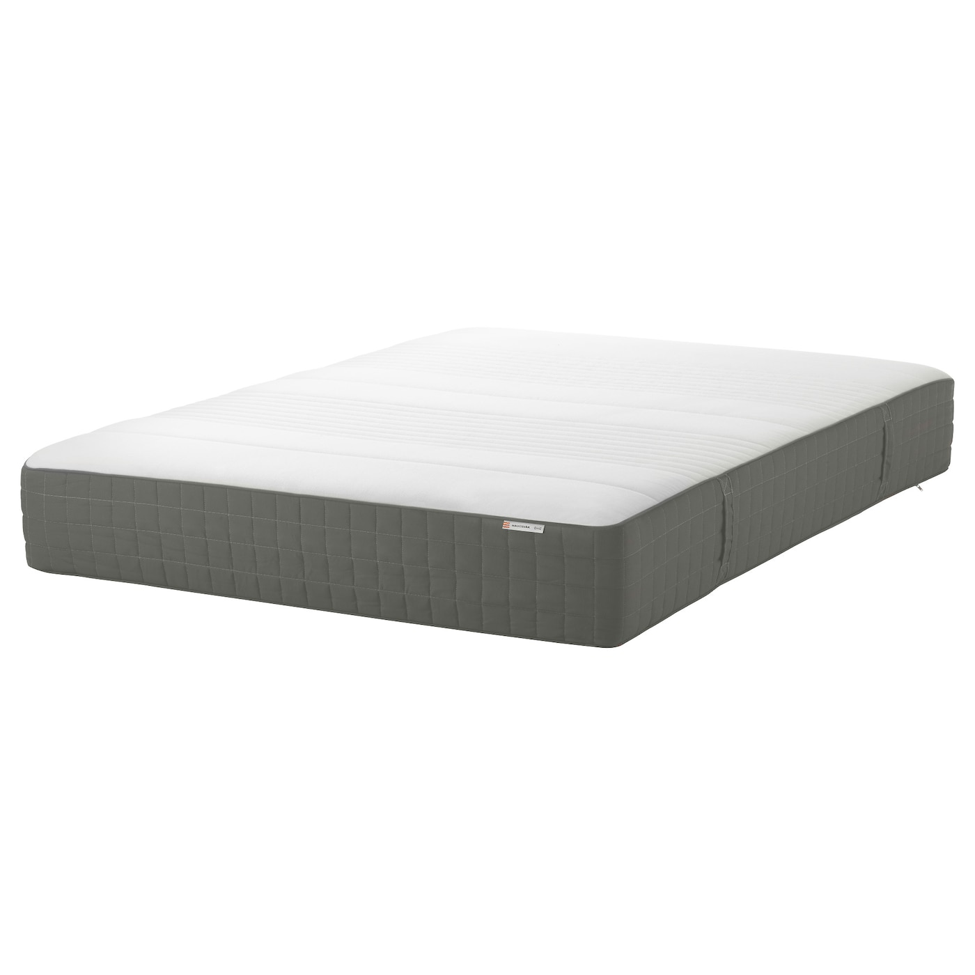 Ikea Haugsvar Hybrid mattress, firm, dark gray, Queen