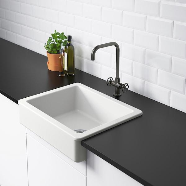 Havsen Apron Front Sink White Ikea