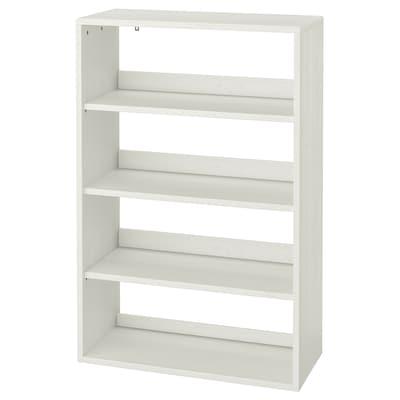 "HAVSTA Shelf unit, white, 31 7/8x13 3/4x48 3/8 """