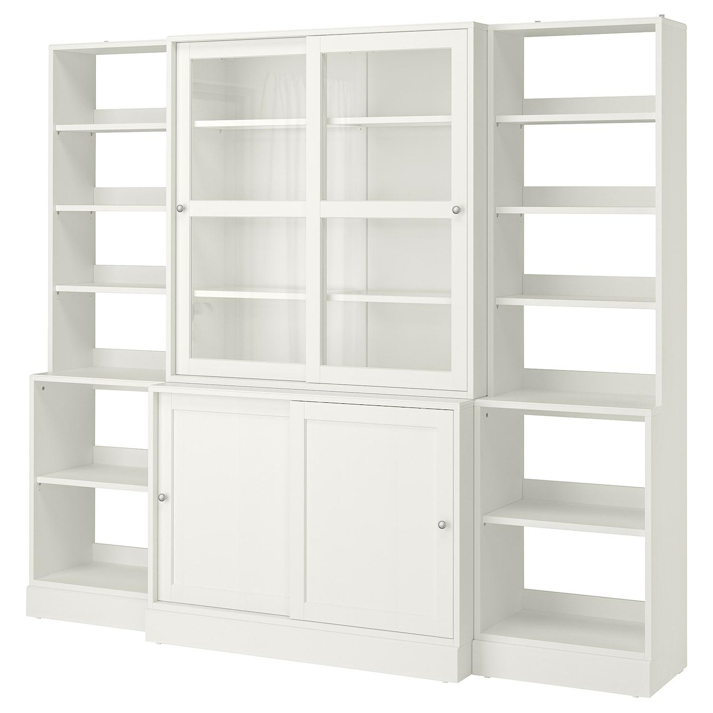 HAVSTA Storage With Sliding Glass Doors