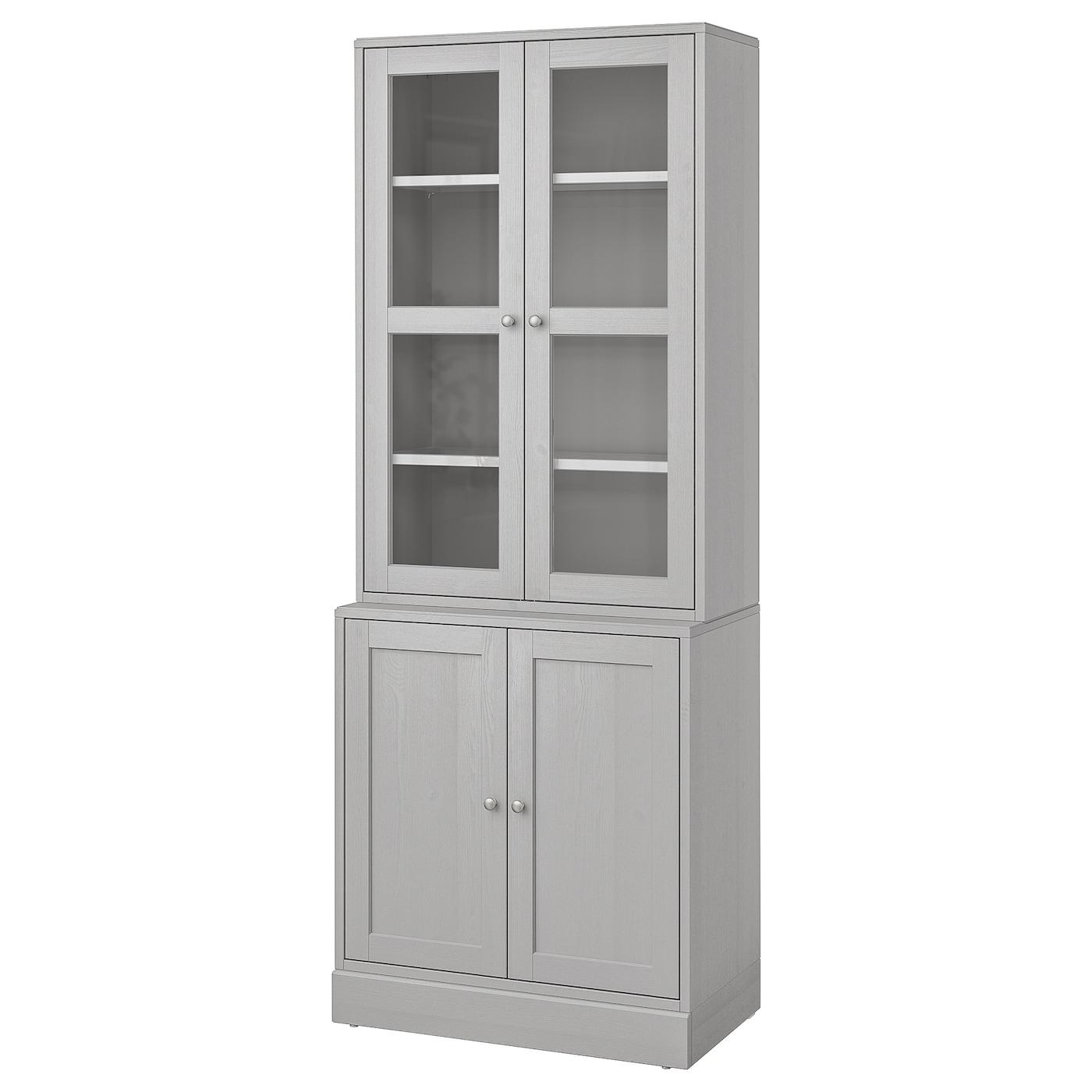 Storage Combination W Gl Doors