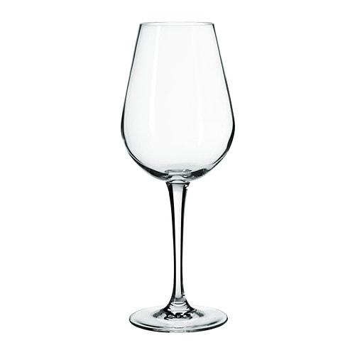 hederlig white wine glass ikea