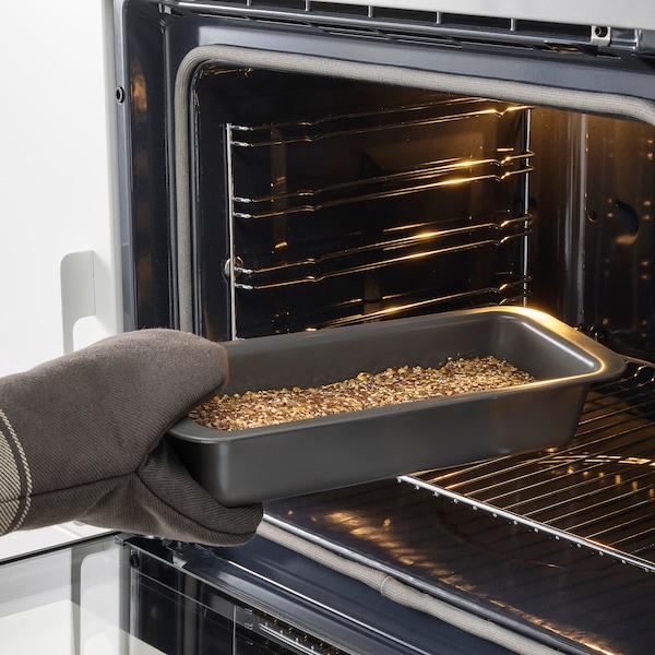 HEMMABAK Loaf pan, gray, 1.9 qt