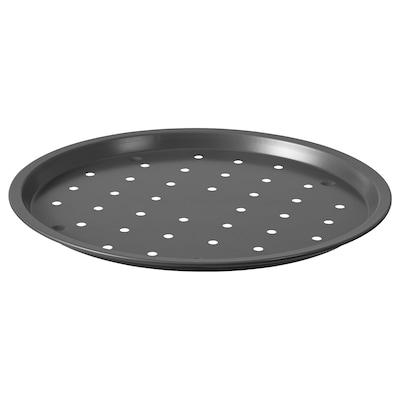 """HEMMABAK Pizza crisper pan, gray, 13 """""""