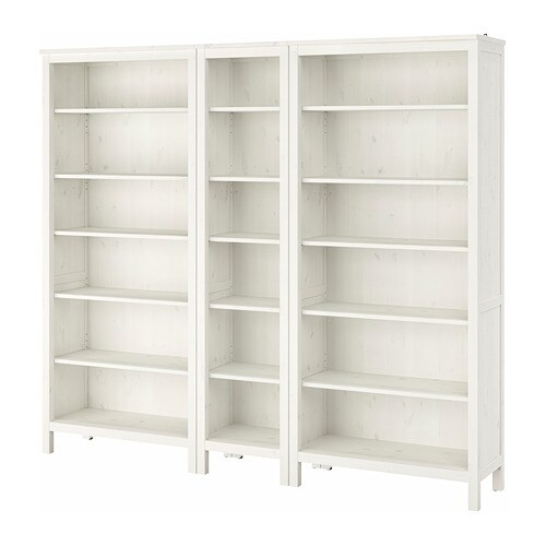 hemnes bookcase white stain ikea. Black Bedroom Furniture Sets. Home Design Ideas