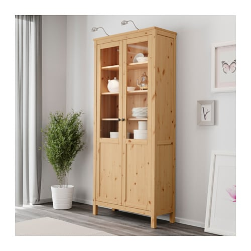 Charming HEMNES Cabinet With Panel/glass Door   White Stain   IKEA