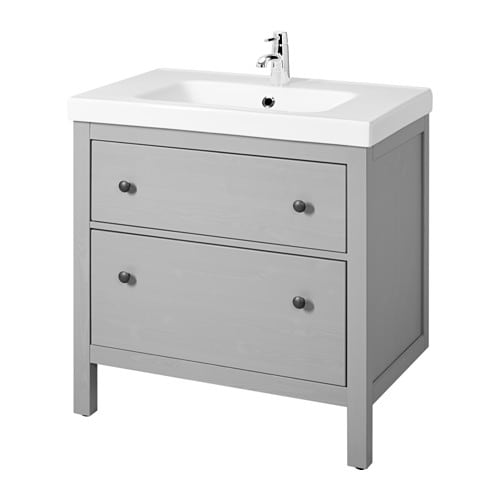Hemnes Tv Unit Two Drawer : Home  Bathroom  Sink cabinets  Sink cabinets