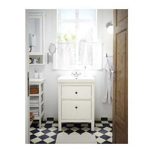 Hemnes Bad hemnes sink cabinet with 2 drawers white 60x30x83 cm ikea