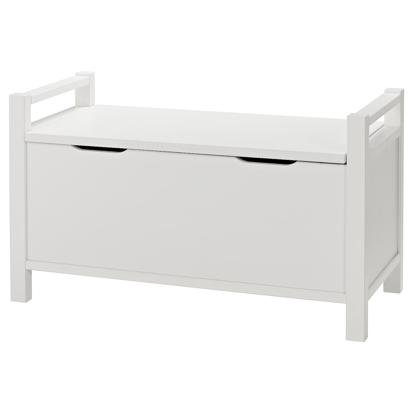 Hemnes Storage Bench White Stain Ikea
