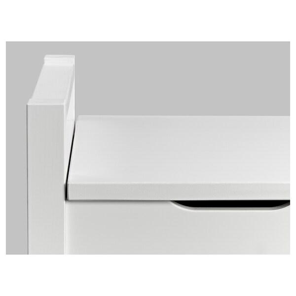 Hemnes Storage Bench White Stain Ikea