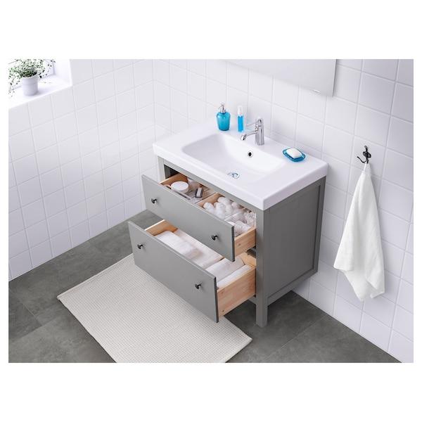 Hemnes Bathroom Vanity Gray Ikea