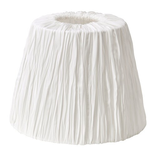 HEMSTA Lamp shade   Fabric shade gives a diffused and decorative light.