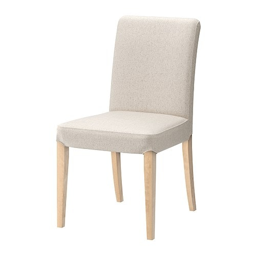Henriksdal chair linneryd natural ikea - Chaise en plastique ikea ...