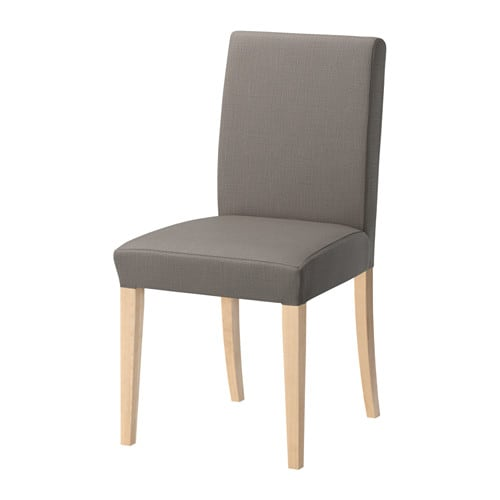Ikea Dining Chairs: Nolhaga Gray-beige