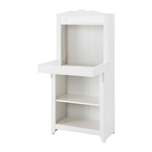 HENSVIK Cabinet   Converts to a shelf unit when the changing table is no longer needed.